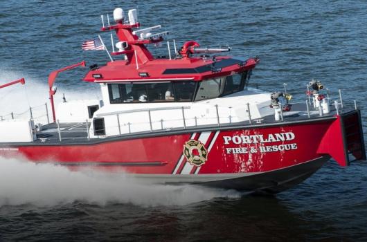 Ship Design Example Patrol Fire Rescue Boat